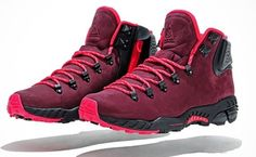 Hiking boots with attitude