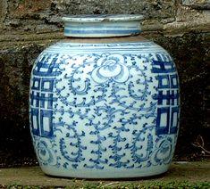 Antique Chinese Porcelain Ginger Jars