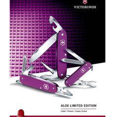 victorinox alox pioneer purple limited edition 2016
