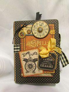 Handmade Graphic 45 Steampunk Spells Mini Album Free SHIP | eBay