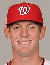 Stephen Strasburg.  We'll have to wait until next year to see him again.