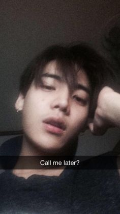 jaewon + fake snapchat caption