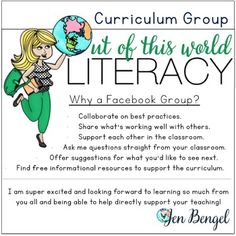 Hello Friends!I wanted to invite those teachers, tutors, and homeschool parents using my resources to join me over at my new Facebook Curriculum Group!This is going to be an awesome place to share ideas, ask questions, celebrate successes, learn from each other, and more.If you're interesting in joining the group, simply follow the link below!Join the Curriculum Group on FacebookI hope to see you all there!!Best wishes,Jen