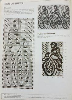 Knitted Mittens Pattern, Fair Isle Knitting Patterns, Fair Isle Pattern, Knitting Charts, Knitting Stitches, Crochet Chart, Filet Crochet, Crochet Patterns, Graph Design
