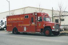 OFD 10R International IHC / Hovey Industries Heavy Rescue fire truck Ottawa, Ontario Canada ©Ian A. McCord | Flickr - Photo Sharing!