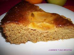 Carmen y sus recetas: BIZCOCHO CON HARINA DE GARBANZOS Sin Gluten, Banana Bread, Pudding, Vegan, Desserts, Food, Chickpea Chocolate Cookies, Crack Cake, Deserts