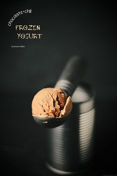 frozen chocolate chili yogurt by abrowntable, via Flickr