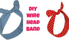 DIY Tutorial: Hair Accessories / DIY Headband - Bead&Cord