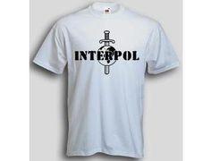 T-Shirt Interpol / mehr Infos auf: www.Guntia-Militaria-Shop.de