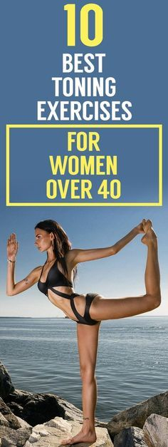 10 best toning exercises for women over 40
