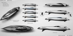 Yacht design sketches, gallery 1 | YACHT-TREND