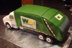 Garbage Truck Cake By Spicy_Erin on CakeCentral.com