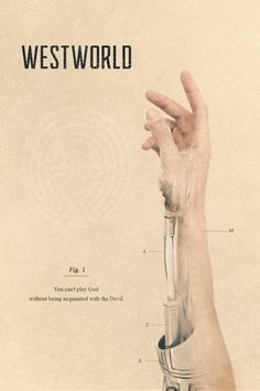 Image result for old westworld poster