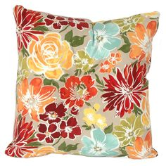 Blossom Sugarplum Back Cushion