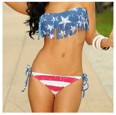 Awesome bathing suit!