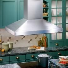 Broan Elite 63000 39 in. Island Mount Range Hood with Light in Stainless - The Home Depot Kitchen Island Range, Island Range Hood, Island Stove, Range Hoods, Cool Kitchen Gadgets, Cool Kitchens, Cooking Appliances, Home Appliances, Sheet Metal Shop