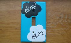 The Fault In Our Stars Light Switch Cover | I need this, again.
