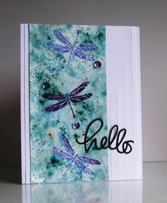 Stampin' Up! Awesomely Artistic, Hello MIX122 by kiagc - Cards and Paper Crafts at Splitcoaststampers