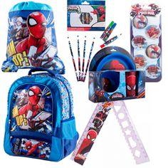 Ghiozdan mare Spider-Man + rechizite scolare Disney, Bebe, Disney Art