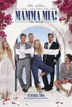Directed by Phyllida Lloyd. With Meryl Streep, Pierce Brosnan, Amanda Seyfried, Stellan Skarsgård. The story of a bride-to-be trying to find her real father told using hit songs by the popular group ABBA. Mamma Mia, Pierce Brosnan, Meryl Streep, Amanda Seyfried, Love Movie, Movie Tv, Crazy Movie, Movies Showing, Movies And Tv Shows