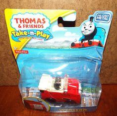 Thomas & Friends Take n Play WINSTON New (damaged package) #FisherPrice