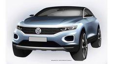 Автофория: Volkswagen готовит новый кроссовер T-Roc