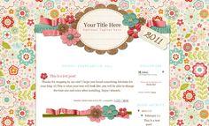 Freebie Friday: Cute Blogger Templates