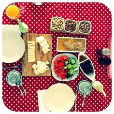Turkish breakfast Turkish Breakfast, Brunch, Appetizers, Turkey, Cheese, Drink, Dinner, Food, Kitchens