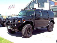 Wisconsin, Milwaukee Wisconsin, Bergstrom Chevrolet & Hummer, H2 Hummer (Black) 2