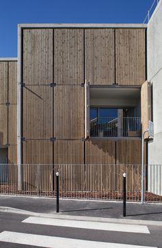 Habitação Social + Lojas em Mouans Sartoux,© Milèle Servelle
