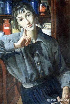 Los maestros de la pintura rusa y sus obras: Zinaida Serebryakova  La pintora rusa Zinaida Serebryakova procedía de la famosa familia de Benois-Lanceray. Pertenecía al grupo pictórico Mundo del arte y fue una de las primeras mujeres rusas que entraron en la Historia de la pintura. En la foto: 'Autorretrato con un pincel' (1924), lienzo, óleo.        1      2      3      4      5      6      7      8      9      10      11      12      13      14    © RIA Novosti. А. Свердлов  La pintora rusa…