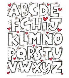707 likes 40 comments Jessie Arnold (@ mrs.- 707 vind-ik-leuks 40 reacties Jessie Arnold ( op Instagra 707 likes 40 comments Jessie Arnold (@ mrs.arnoldsartroom) on Instagra - Hand Lettering Alphabet, Doodle Lettering, Creative Lettering, Lettering Styles, Calligraphy Letters, Block Lettering, Brush Lettering, Typography, Doodle Alphabet