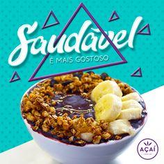 Social Media 2017 - Açaí Premier on Behance Social Media Branding, Social Media Banner, Social Media Content, Social Media Design, Social Media Graphics, Food Graphic Design, Food Poster Design, Food Design, Food Banner