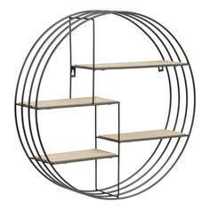 Regal Schwarz - Bergren - Lilly is Love Hanging Shelves, Wall Shelves, Shelving, Design Furniture, Modern Furniture, Cube Mural, Tv Wall Decor, Tv Unit Design, Home Plans
