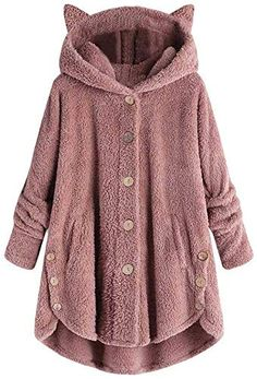 Fashion Cardigan Women Casual Sweaters Autumn Winter Long Sleeve Solid Jumper Knitted Cardigans Coat Women Outerwear Pull Femme : Fashion Cardigan Women Casual Sweaters Autumn Winter Long Sleeve So. Winter Coats Women, Coats For Women, Jackets For Women, Fall Coats, Mode Mantel, Looks Chic, Loose Sweater, Sherpa Sweater, Pulls