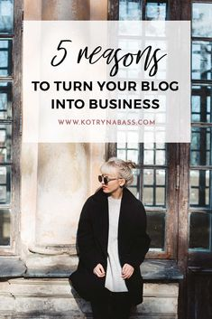 5 Reasons To Blog For Business | If you're currently running an online business & consider starting a blog alongside it- you definitely should. And here is why…
