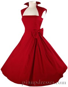 Gorgeous pin-up style dress