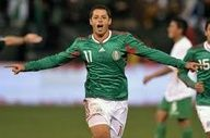 El Chicharito aka Little Pea - El Tri's hopes are high with Manchester United's Javier Hernandez leading the way for Mexico. He scored in South Africa and he'll surely score in Brazil. #chicharito #mexico