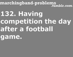 marching band problems   Tumblr