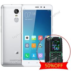 """(Buy One Get One 50% Off) XIAOMI REDMI NOTE 3 PRO 5.5\"""" FHD Snapdragon 650 4G Phone Touch ID + XIAOCAI X6 1.8\"""" MTK6250D Phone KB-"""