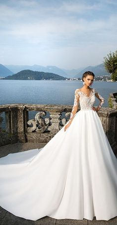 Milla Nova Bridal 2017 Wedding Dresses djanet / http://www.deerpearlflowers.com/milla-nova-2017-wedding-dresses/11/