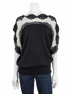 Crochet. hopefully one day I will be good enough at crocheting to make this