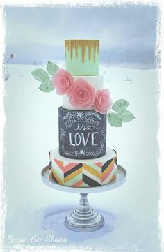 Cake Decorating Classes South Wales : 1000+ images about Chalkboard cake & Cupcakes on Pinterest ...