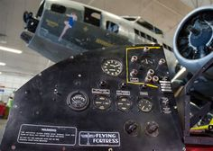 Memphis Belle pilot's instrument panel donated to National Museum of the U.S. Air Force