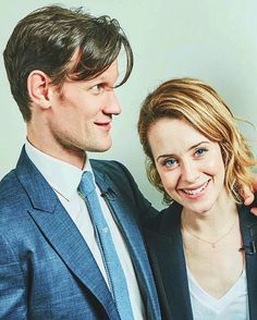 ae742c6452 Matt Smith and Claire Foy for The Crown