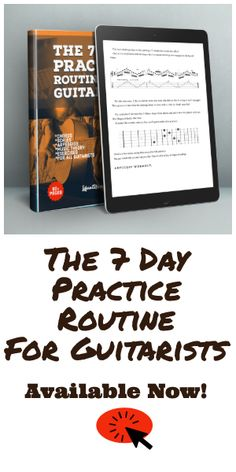 The 7 Day Practice Routine For Guitarists. A comprehensive practice routine including Music Theory, Chords, Scales and Arpeggios. TAB and Standard Notation. Over 80 pages. Jazz Guitar Chords, Acoustic Guitar Lessons, Guitar Chord Chart, Guitar Tips, Music Chords, Ukulele Tabs, Piano Music, Classical Guitar Lessons, Violin Lessons