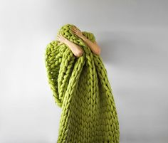 Huge knits by Anna Mo