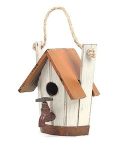 Loving this Faucet Birdhouse on #zulily! #zulilyfinds