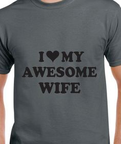 I Love MY Wife by occasionstshirts on Etsy I Love My Wife, My Love, Trending Outfits, Mens Tops, Wedding, Etsy, Valentines Day Weddings, Weddings, Love Wife