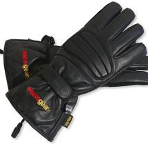 These womens heated gloves will work well for a lot of different riding conditions. Just hook them up to your battery or connect them to your compatible gear. Heated Motorcycle Gear, Heated Clothing, Leather Gloves, Black Leather, Pairs, Snowmobiles, Shopping, Motorcycles, Strong